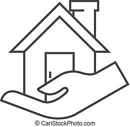 Outline icon - Property care