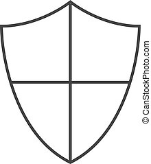Outline icon - Shield