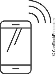 Outline icon - Smartphone