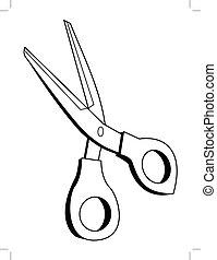 scissors, office tool