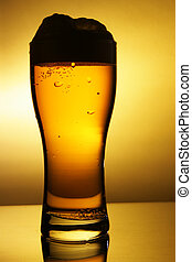 Outline of beer glass