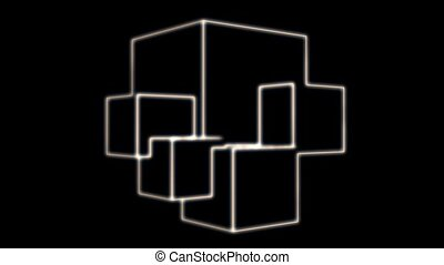Outline of Multi Level Shape