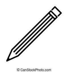 Outline Pencil Icon - msidiqf