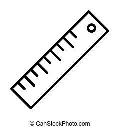 Outline Ruler Icon - msidiqf