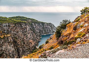 Kabak Valley in Fethiye, Turkey