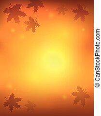 outono, abstratos