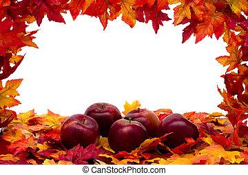 outono, cena