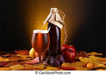 outono, cerveja