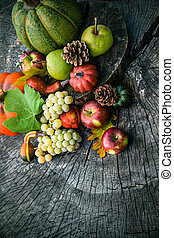 Outono, fruta