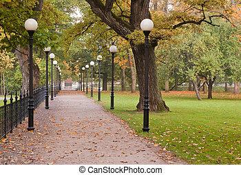 outono, kadriorg, parque, tallinn