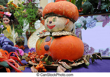 outono, presentes, de, natureza