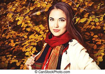outono, retrato