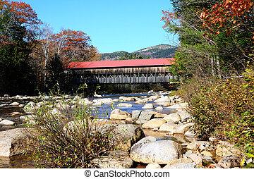 outono, rio, prontamente