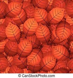 outono sai, árvore, seamless