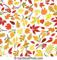 outono sai, bagas, seamless, fundo