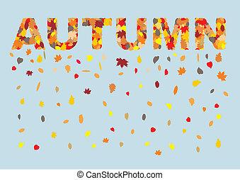 outono sai, em, primavera, título