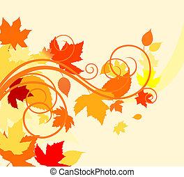 outono sai, fundo