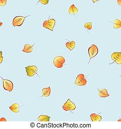 outono sai, seamless, fundo, queda
