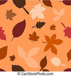 outono sai, seamless, fundo