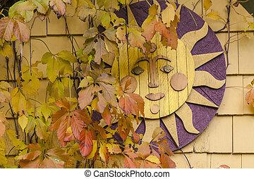 outono, sol