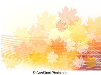 outono, vermelho