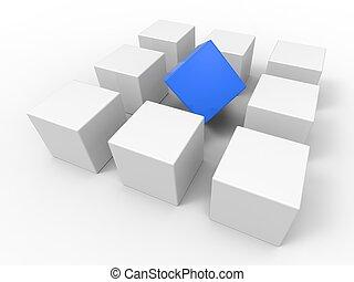outsider, mezzi, posto, differenza, o, fuori
