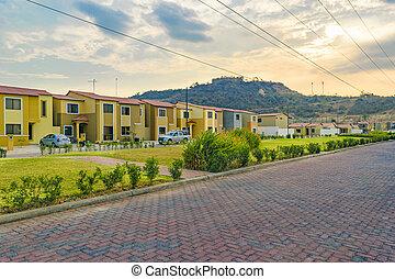 Outskirts Condominium Neighborhood, Guayaquil, Ecuador