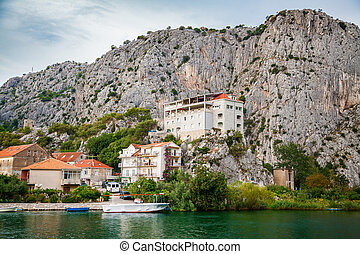 outskirts of the small town Omis