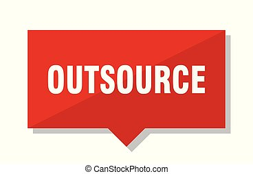outsource red tag