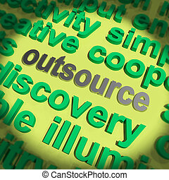 Outsource Word Means Hiring Independent Worker Or...