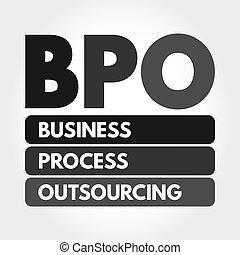 outsourcing, bpo, handlowy, akronim, -, proces