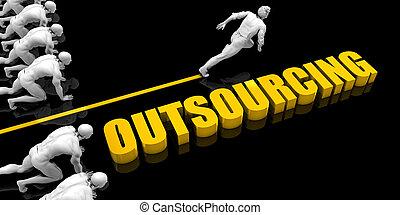 outsourcing, líder
