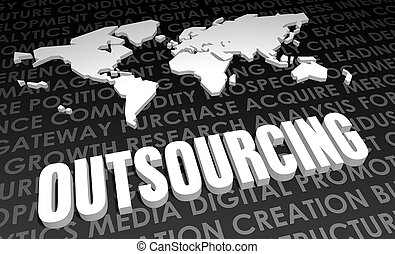 Outsourcing Industry Global Standard on 3D Map