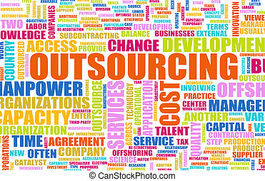 Outsourcing for a Company Concept as Background