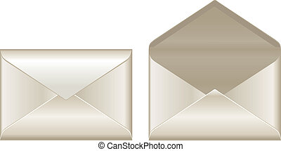 ouvert, fermé, enveloppes