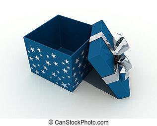 ouverture boîte, noël