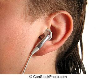 ouvinte, música