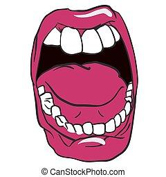ouvrez bouche