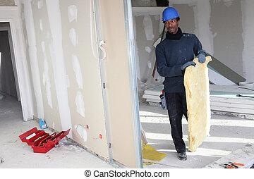 ouvrier bâtiment