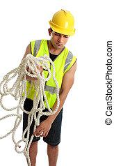 ouvrier construction, fonctionnement