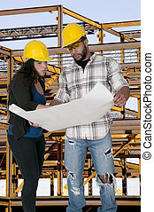 ouvrier construction
