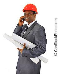 ouvrier, construction, mâle