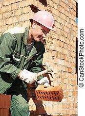 ouvrier construction, maçon