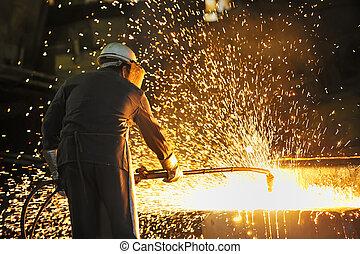 ouvrier industriel
