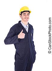ouvrier, jeune