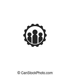 ouvrier, logo
