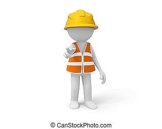 ouvrier, sécurité