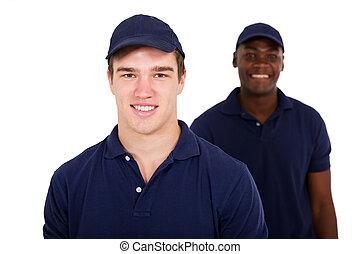 ouvriers, jeune