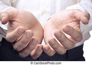 ouvrir mains