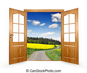 ouvrir porte